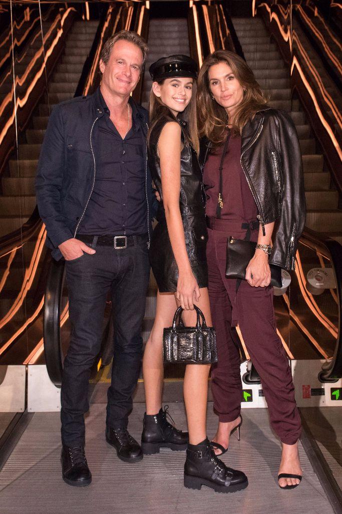 cindy crawford, kaia gerber, randy gerber, new york fashion week, mert and marcus book launch