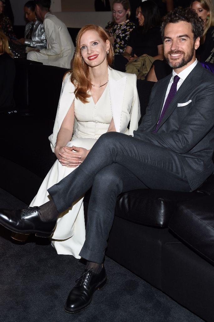 Jessica Chastin and Gian Luca Passi de Preposulo, ralph lauren spring 2018, new york fashion week