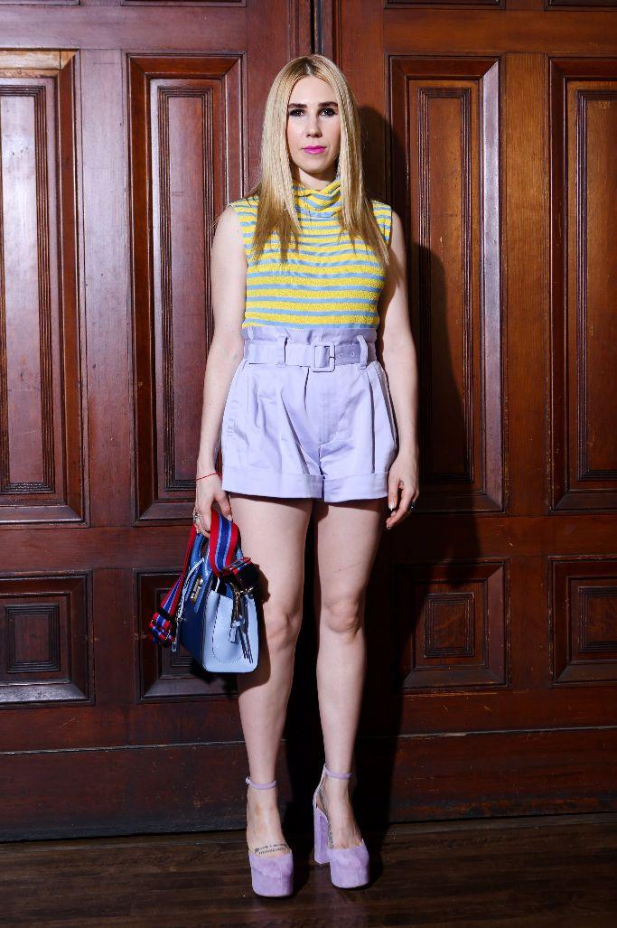 marc jacobs spring 2018, Zosia Mamet, new york fashion week