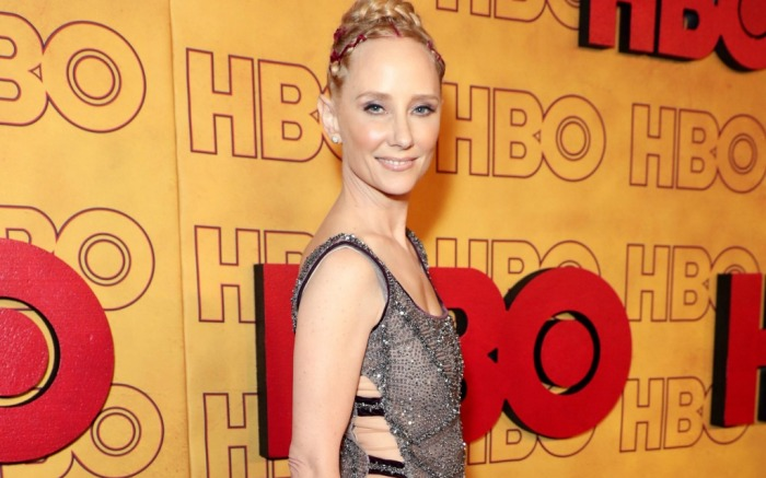 emmy awards 2017 red carpet, anne heche, hbo after party