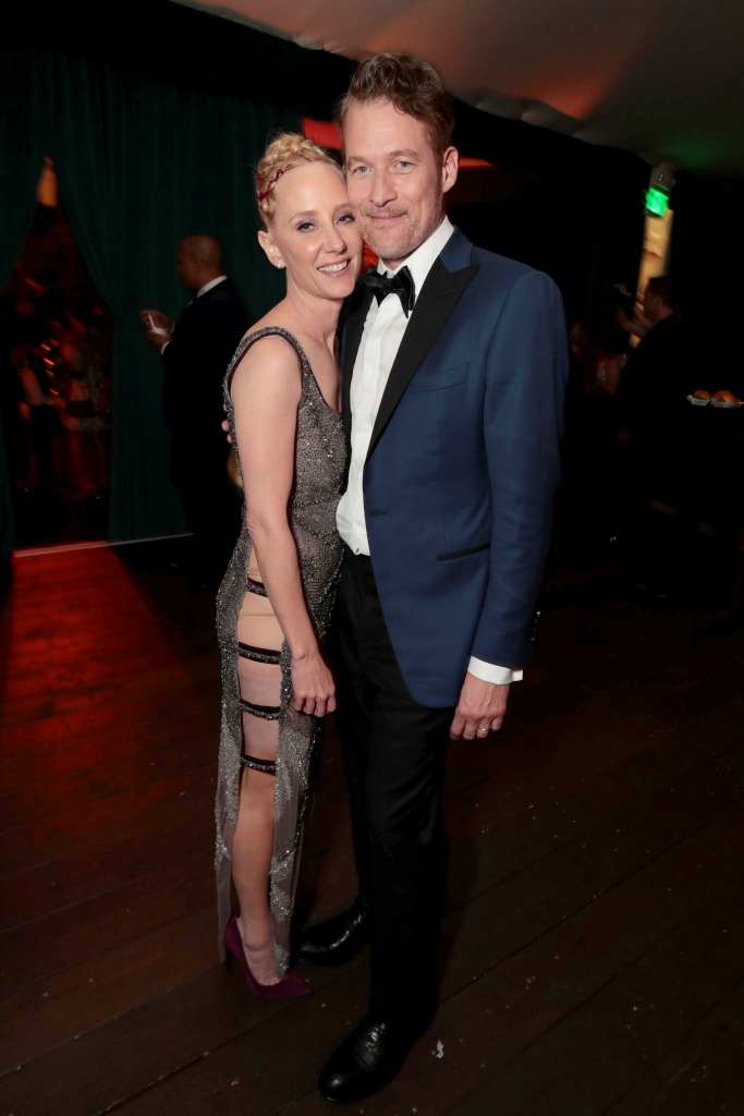 hbo after party, anne heche, james tupper, emmys