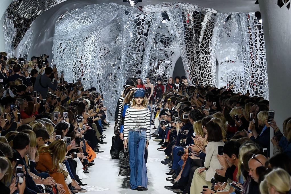 dior ready to wear spring 2018, paris fashion week