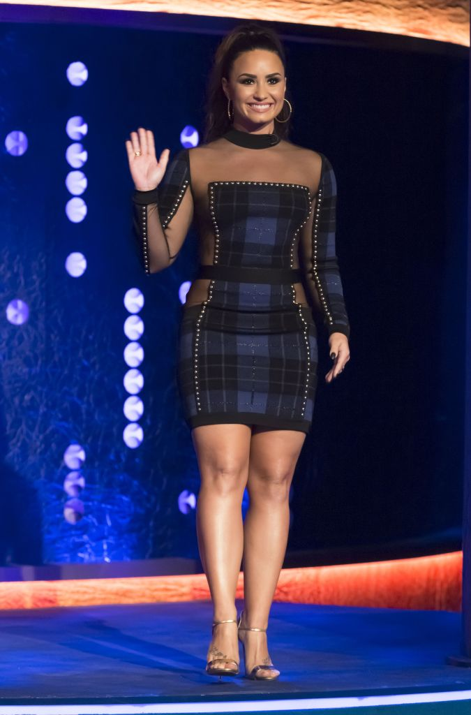 Demi Lovato at 'The Jonathan Ross Show.'