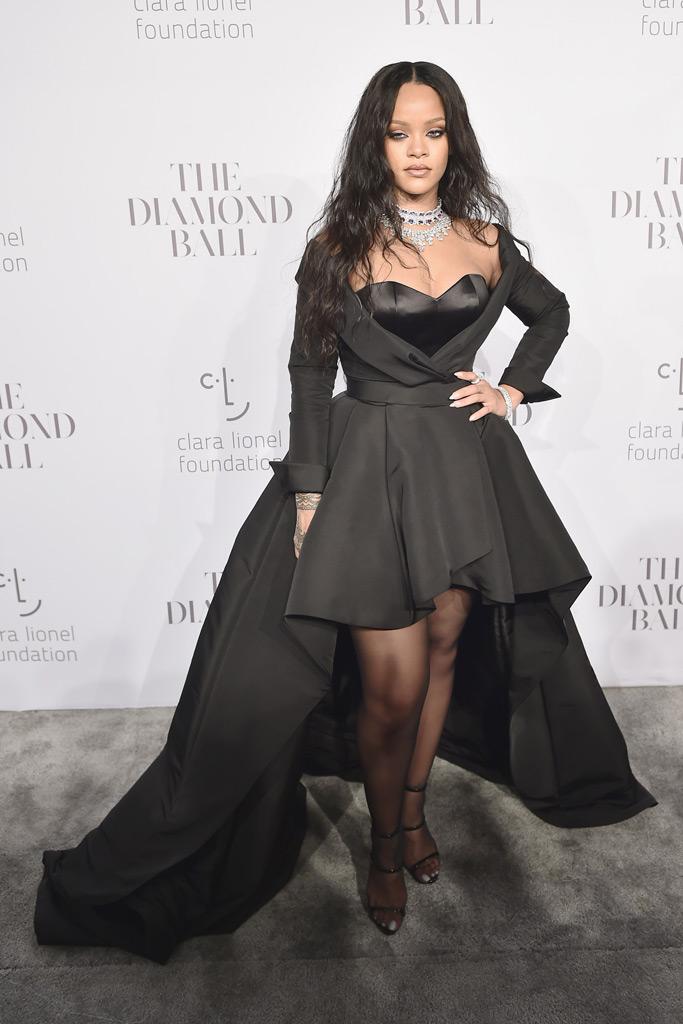 Rihanna, Diamond Ball, Giuseppe Zanotti