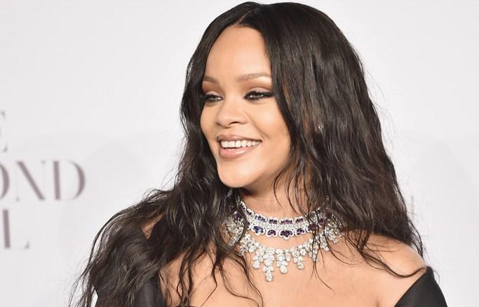 Rihanna at Diamond Ball