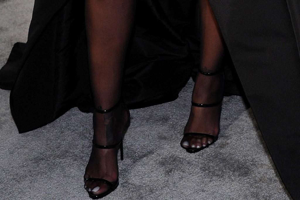 Rihanna, Giuseppe Zanotti, sandals