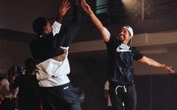 Ronnie Fieg and Scottie Pippen