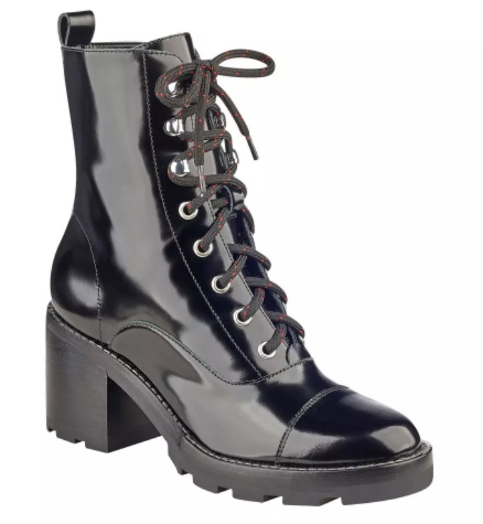 MARC FISHER LTD Wanya Lace Up Ankle Boot