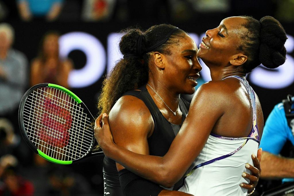 Serena Williams, Venus Williams, 2017 Australian Open