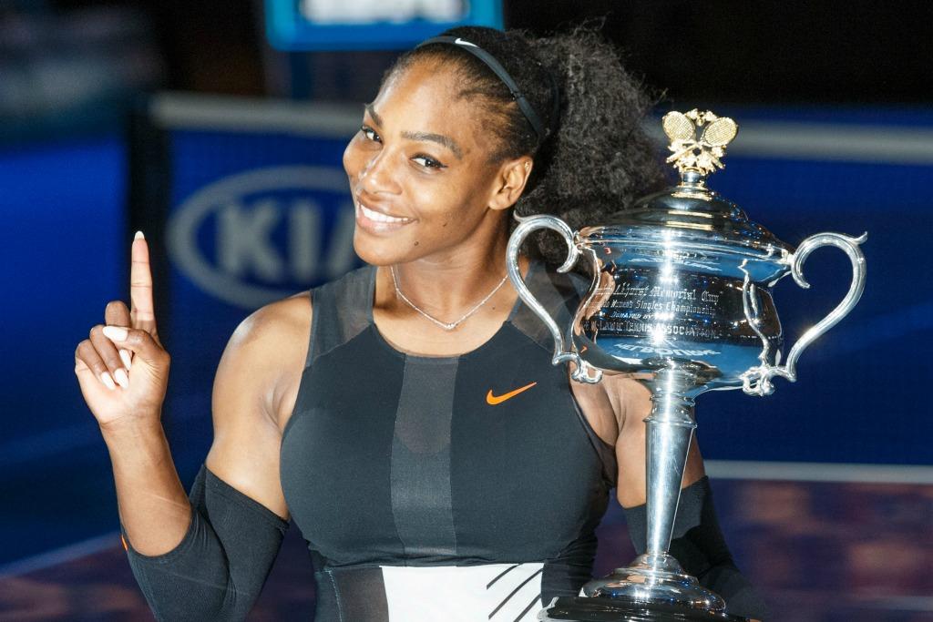 Serena Williams, 2017 Australian Open