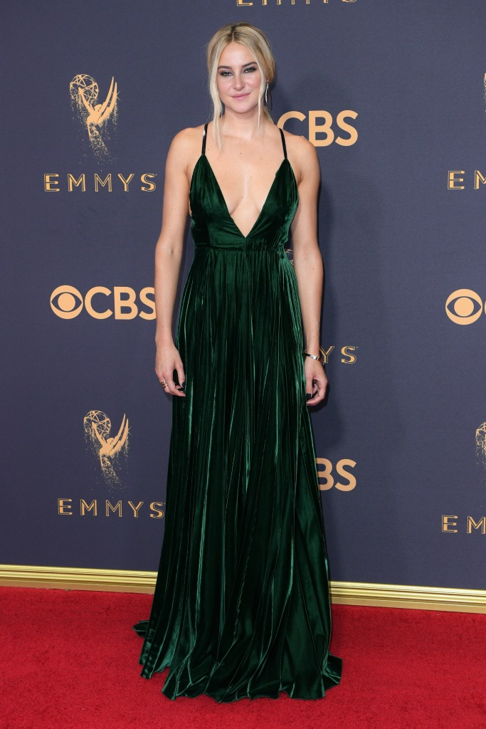 Shailene Woodley at the 69th Emmy Awards