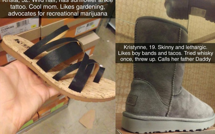 shoe personalities