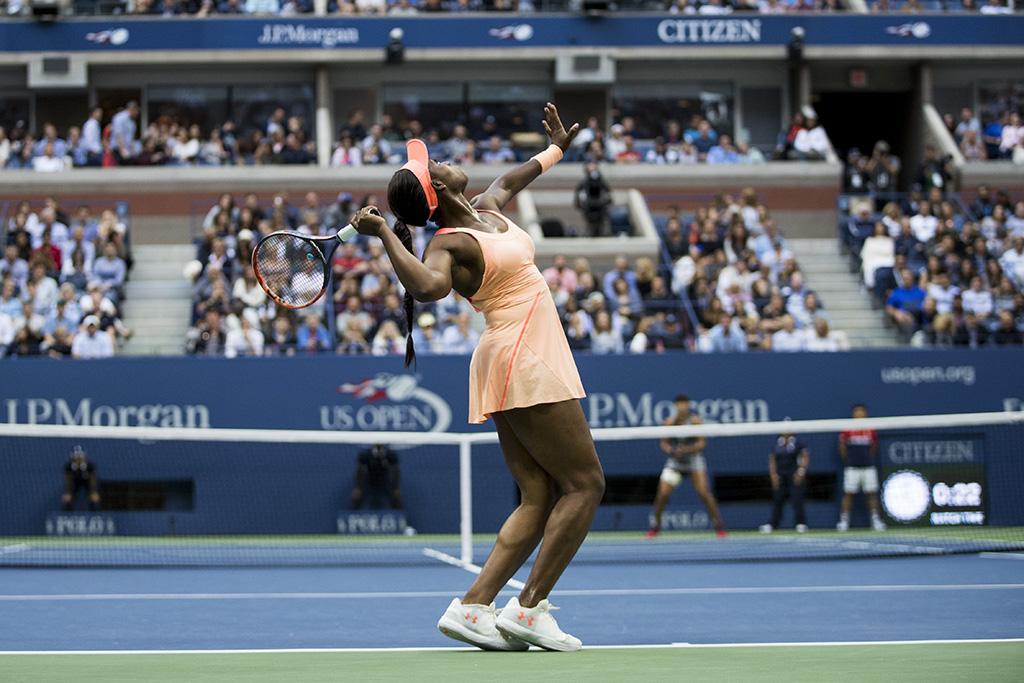 2017 U.S. Open Sloane Stephens