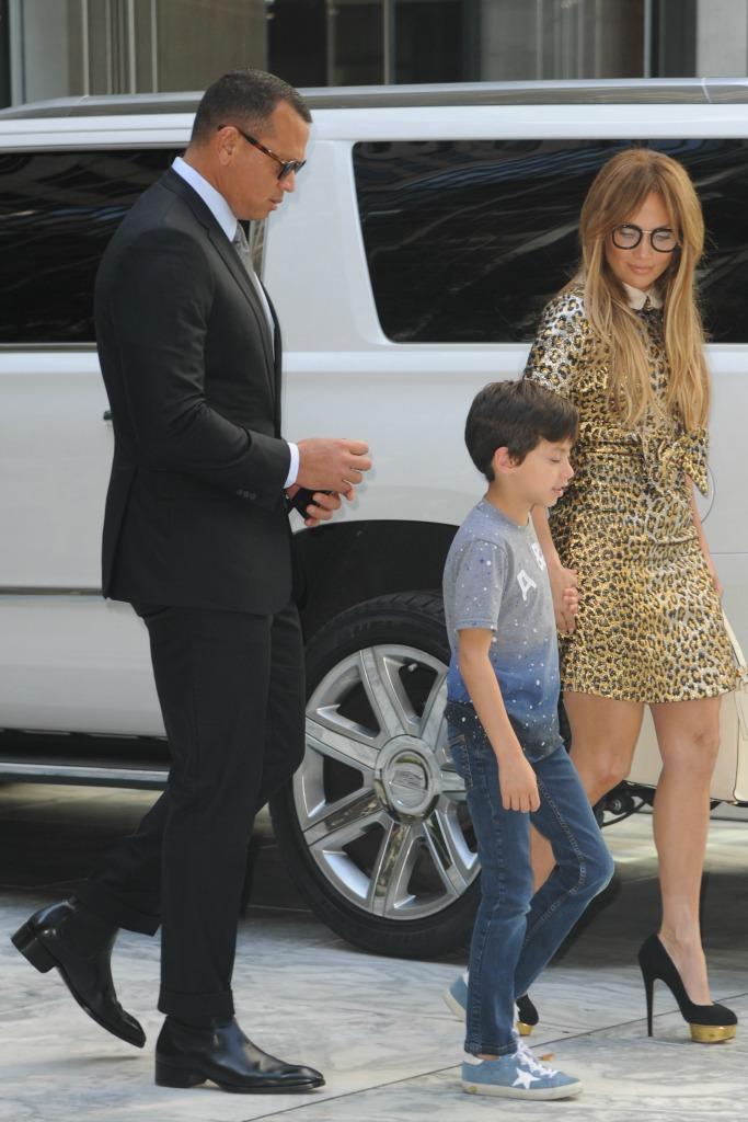 Jennifer Lopez and Alex Rodriguez, gucci, charlotte olympia, valentino