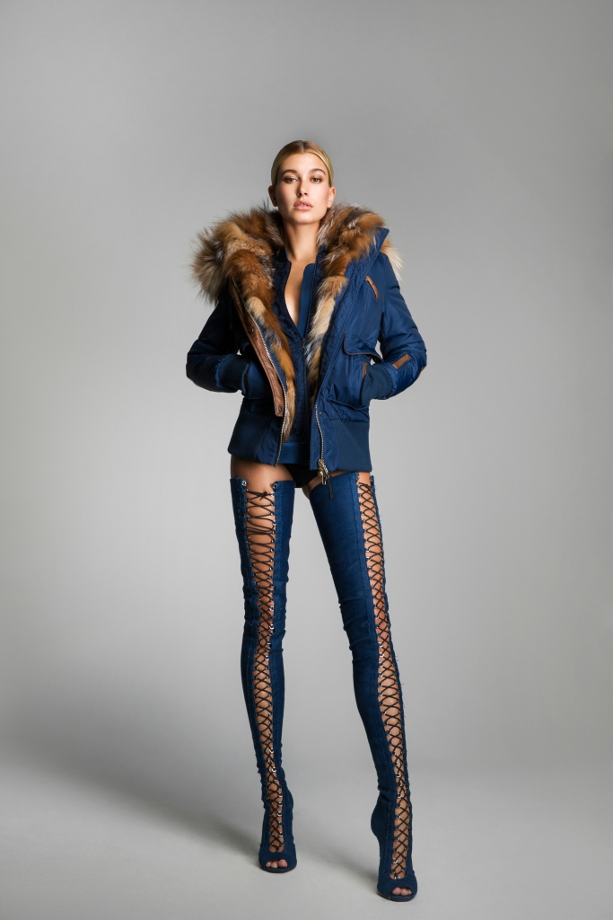 Hailey Baldwin is the new face of fashion brand Nicole Benisti's autumn/winter 2017 campaign.