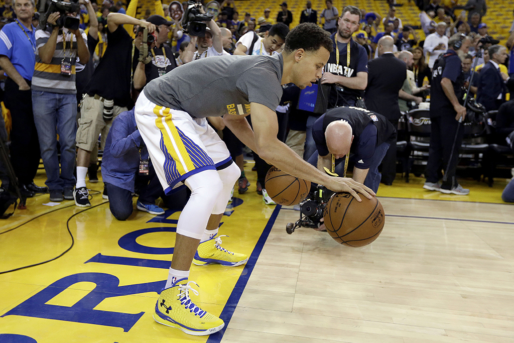 Stephen Curry Golden State Warriors 2015 NBA Finals Under Armour Curry 1
