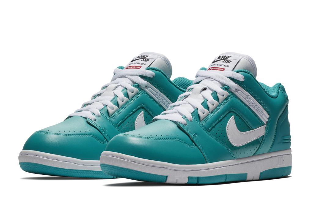 Supreme x Nike Air Force 2