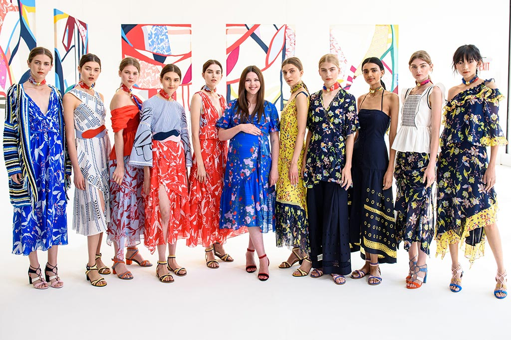 new york fashion week, tanya taylor, spring 2018, andrea gomez