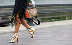 The Coolest Street Style Shoe Looks at London Fashion Week Spring '18
