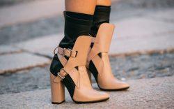 Shoes on the Street at Milan Fashion Week