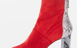 Red Boots to Shop for Fall 2017