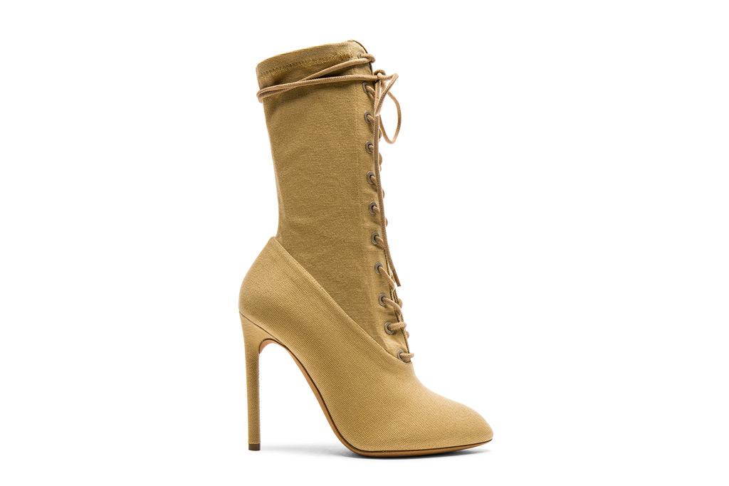 Yeezy boots, kim kardashian