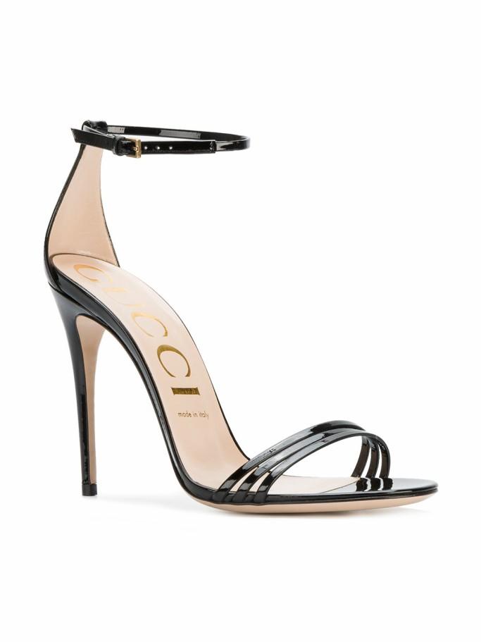 GUCCI minimal stiletto sandals