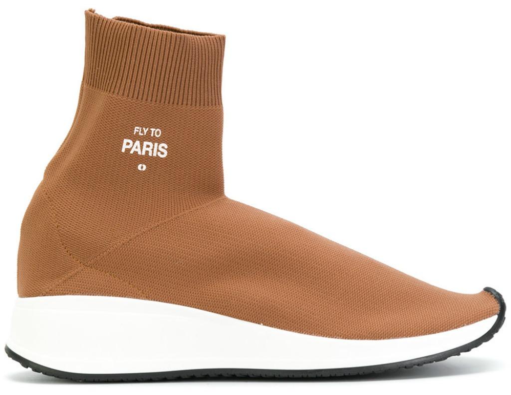 Joshua Sanders Sock Detail Sneakers