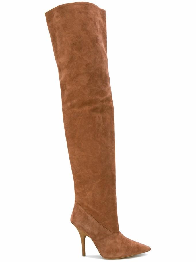 yeeze season five tubular thigh high boots