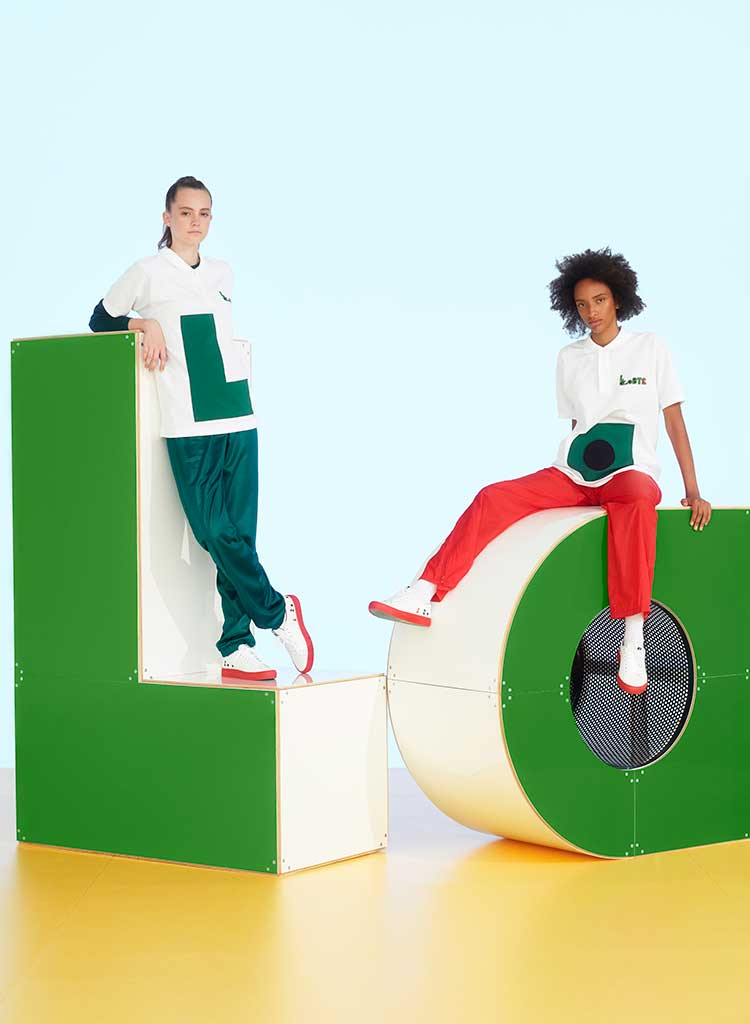 Lacoste campaign shot.