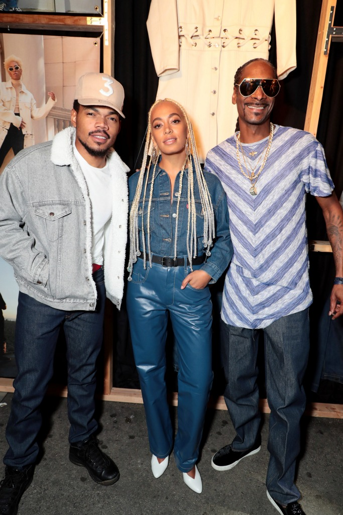 Chance the Rapper, Solange and Snoop Dog