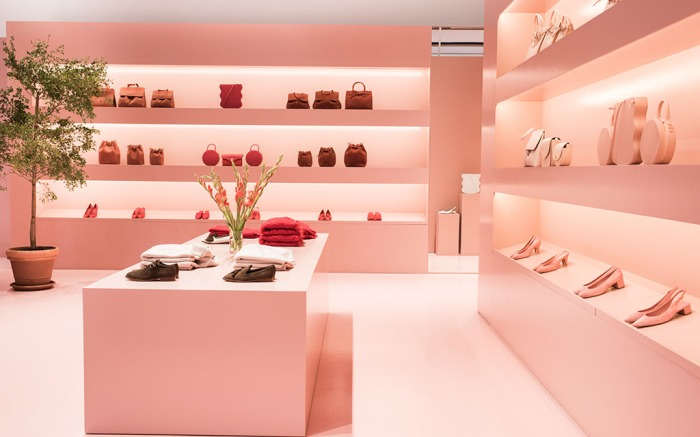 Mansur Gavriel pop-up store