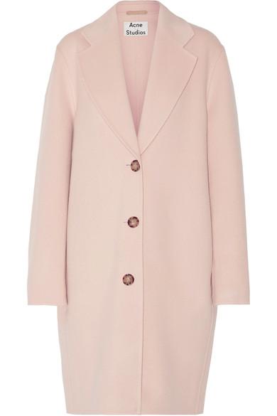 Landi oversized wool and cashmere-blend coat