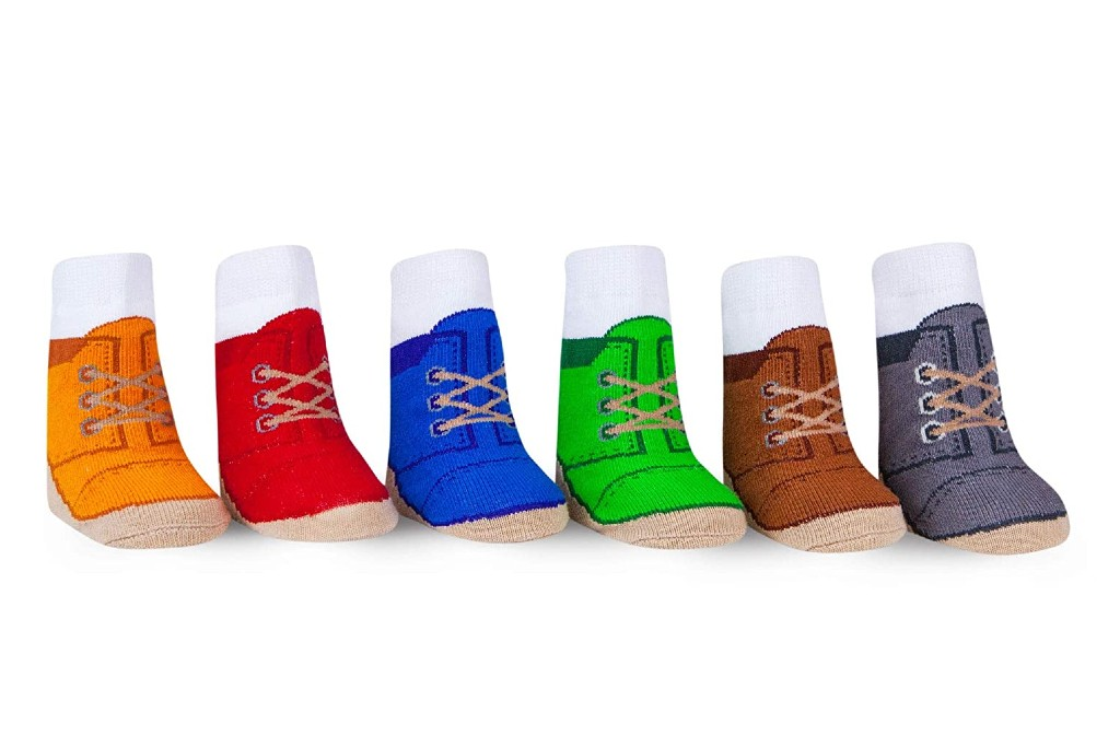 Waddle Chukka Boot Socks, baby socks that look like real shoes