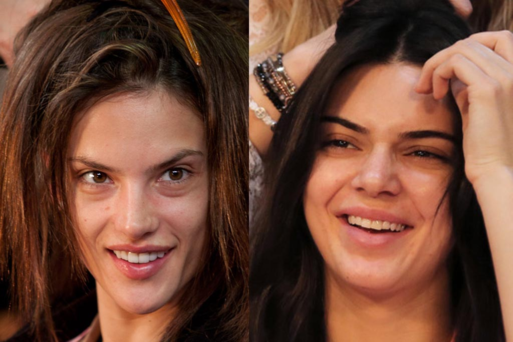 Kendall Jenner And Victoria S Secret Show Models Without Makeup Ngo News