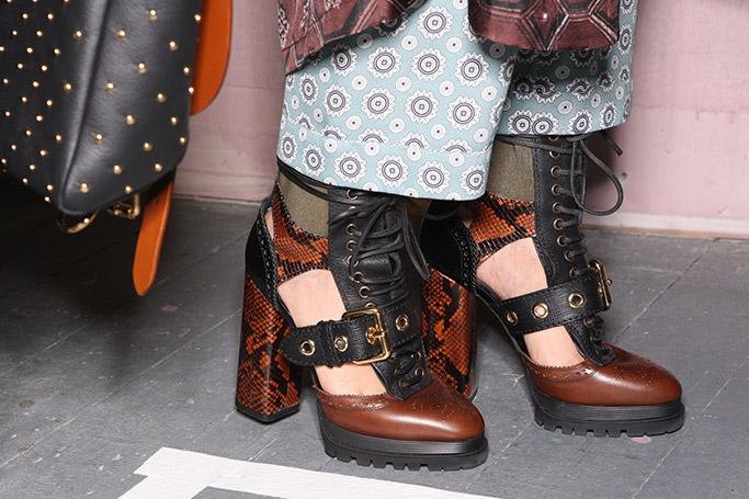 Burberry Fall 2016 Footwear