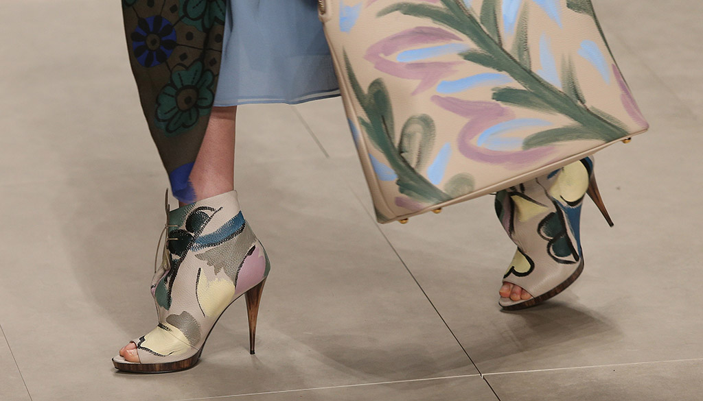 Burberry Fall 2014 Footwear
