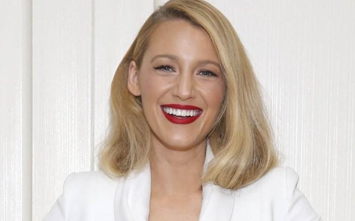 Blake lively new hair