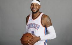 Carmelo Anthony Oklahoma City Thunder