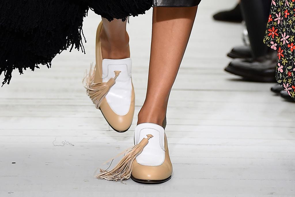 Celine spring 2018 tassel loafers