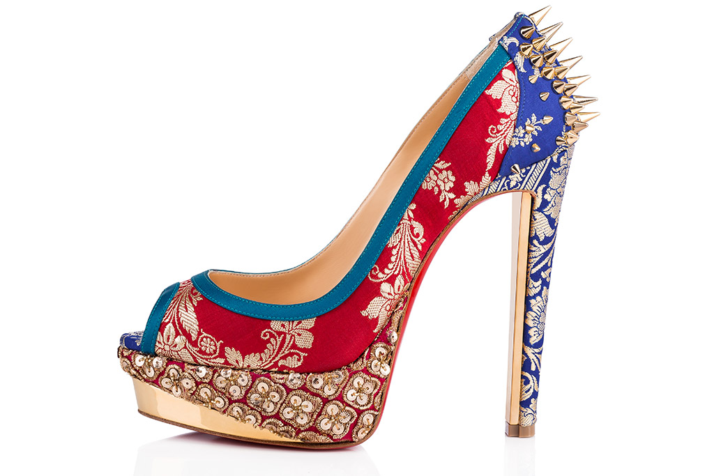 Christian Louboutin Teams With Indian