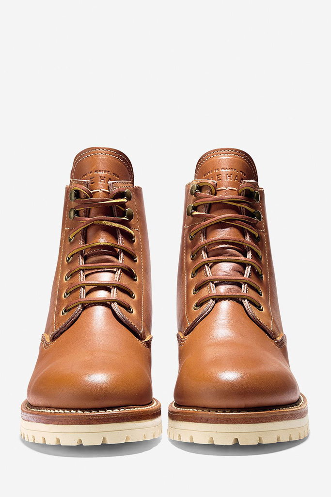 Cole Haan Maine Rugged Plain Toe Boot