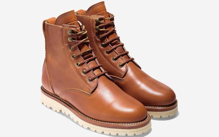 Cole Haan Maine Rugged Plain Toe Boot