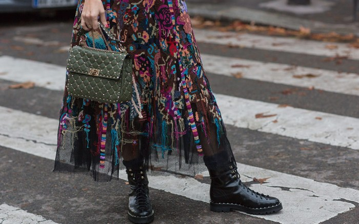 street style, combat boots