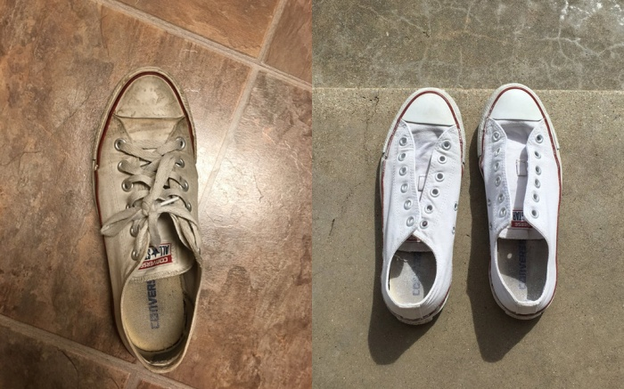 Shoe Cleaning Hack