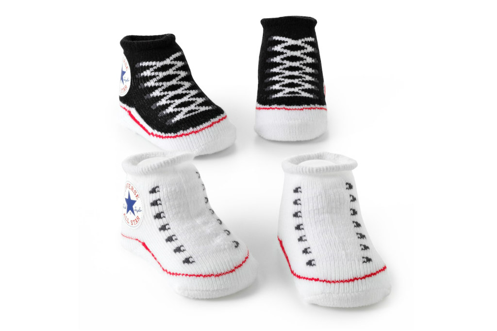 converse baby socks, baby socks that look like real shoes