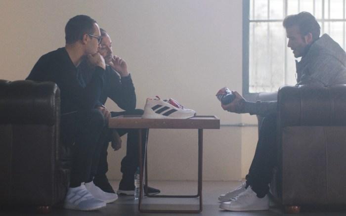 David Beckham and Adidas Designers