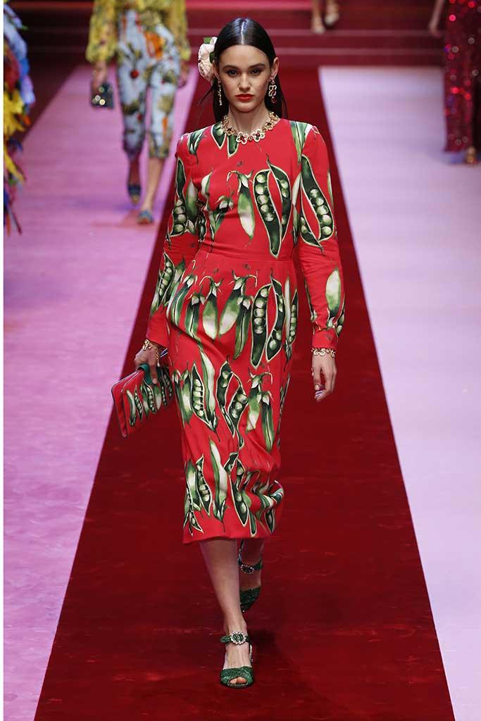 Dolce & Gabbana spring 2018.