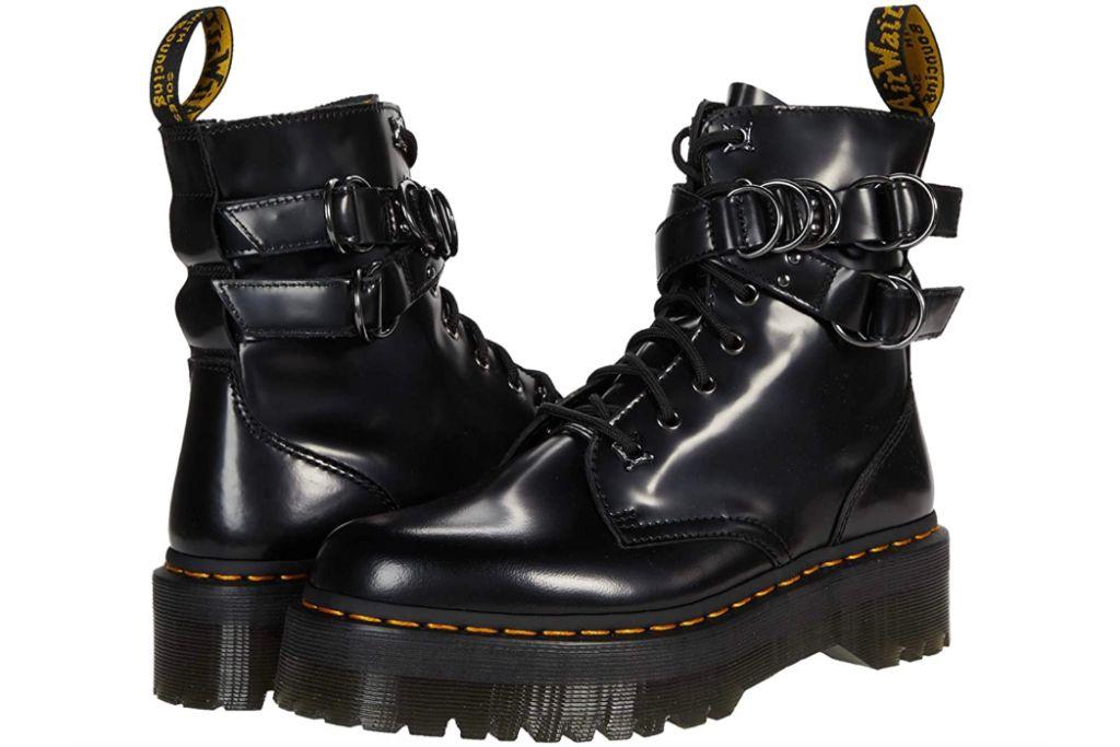 Dr. Martens, Jadon HDW, Combat Boots, Black Boots