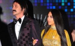 Kim Kardashian with Jonathan Cheban